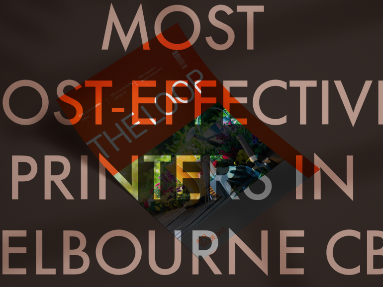 We are the most cost-effective business printers in Melbourne CBD